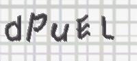 CAPTCHA obrázok na prevenciu proti spamu